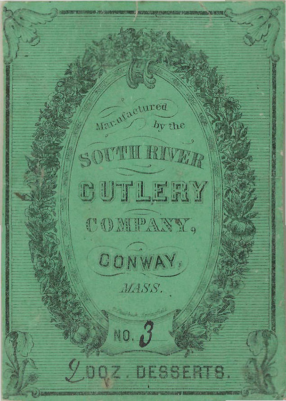 Image for: South River Cutlery Ad Card