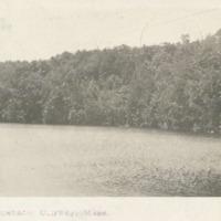 Postcard of Lake Wequanach