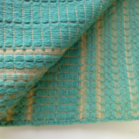 Green Wool Bed Coverlet