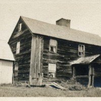 Photograph of First Framed House in Conway, Built 1766