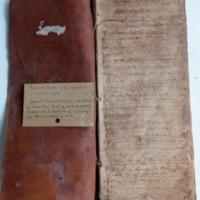 Dr. William Hamilton's Record Books, Nos. 3 & 6.