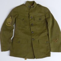World War I Uniform of Newell Edward Morton
