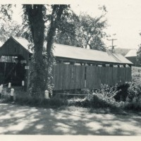 Photograph of the Conway Covered Bridge