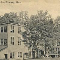 Postcard of DeWolfe Shoe Company