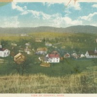 Postcard View of Conway, Mass.