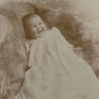 Photograph of Margaret Delabarre in Christening Dress