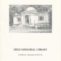 Field Memorial Library Flyer