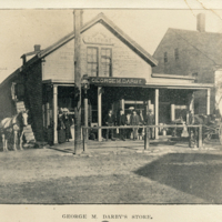 Postcard of George M. Darby's Store