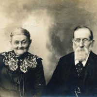 Portrait of Addison Brown and Esther Stebbins Brown