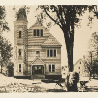 Postcard of Conway Town Hall<br /><br /> <br /><br />