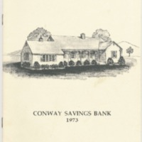 Conway Savings Bank 1973 Annual Report