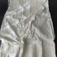 White Cotton Half Slip