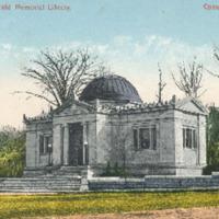 Postcard of Field Memorial Library<br /><br />