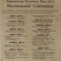 Conway Bicentennial Proclamation