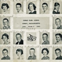 Conway Elementary School 6th Grade Class, 1962-1963