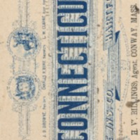Connecticut Fire Insurance Co. Blotter Paper