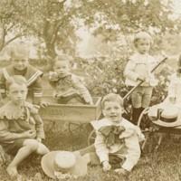 Photograph of Boyden Children
