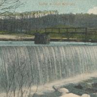 Postcard of the Tucker & Cook Reservoir
