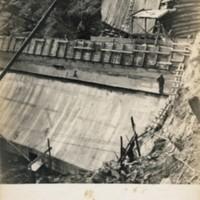 "Postcard of Conway's ""Big Dam"""