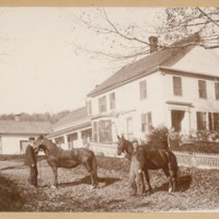 Photograph of Franklin Pease House, Conway, Mass.