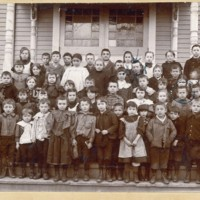 Conway Center School, 1897 Class Photo
