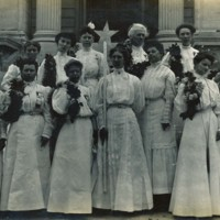 Photograph of Women in Conway Grange