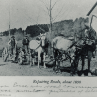 Photograph of 19th Century Conway Road Crew