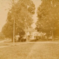 Photograph of Pease Home in Pumpkin Hollow