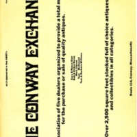 Flyer For the Conway Exchange