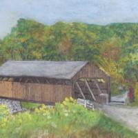 2 Watercolor Paintings of Conway Scenes