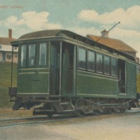 Postcard of Railway Car
