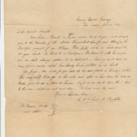 Charles & Laura Buckbee to Harriet Averill and the Ladies Benevolent Society, October 17, 1849