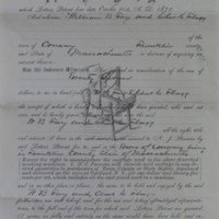 Assignment of Patent for Improved Clothes Washing Machine