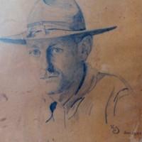 W. Lester Stevens Self-Portrait