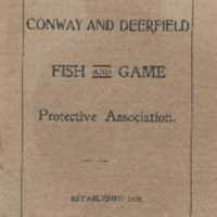 By-Laws of the Conway and Deerfield Fish & Game Protective Association