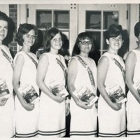 Photographs of the Queen Selection for the Conway Bicentennial Celebration