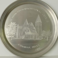 Commemorative Plate Awarded to Gladys Graves