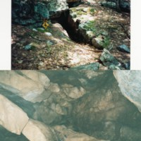 Photographs of Cricket Hill Ladder Cave