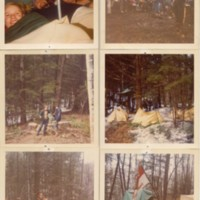 Photographs of Conway Boy Scout Troop #16,  Avery Brook Campout, 1972
