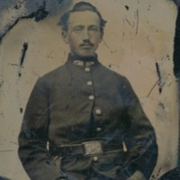 Tintype of Unknown Soldier