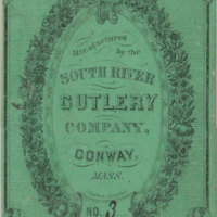 South River Cutlery Ad Card