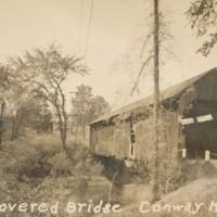Postcard of Covered Bridge
