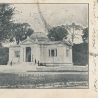 Postcard of Field Memorial Library