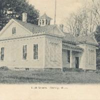 Postcard of Conway High School