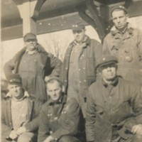 Photograph of Boston & Maine Railroad Crew