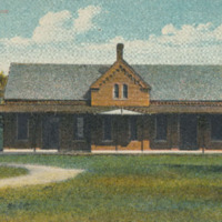 Postcard of Conway Station