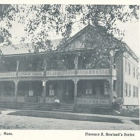 Postcard of Conway House Hotel