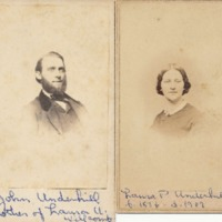 Photographs of John and Laura Underhill