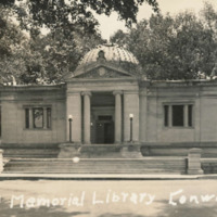 Postcard of the Field Memorial Library