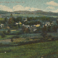 Postcard of View from Baptist Hill